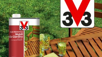 Olio protettivo per mobili da giardino V33