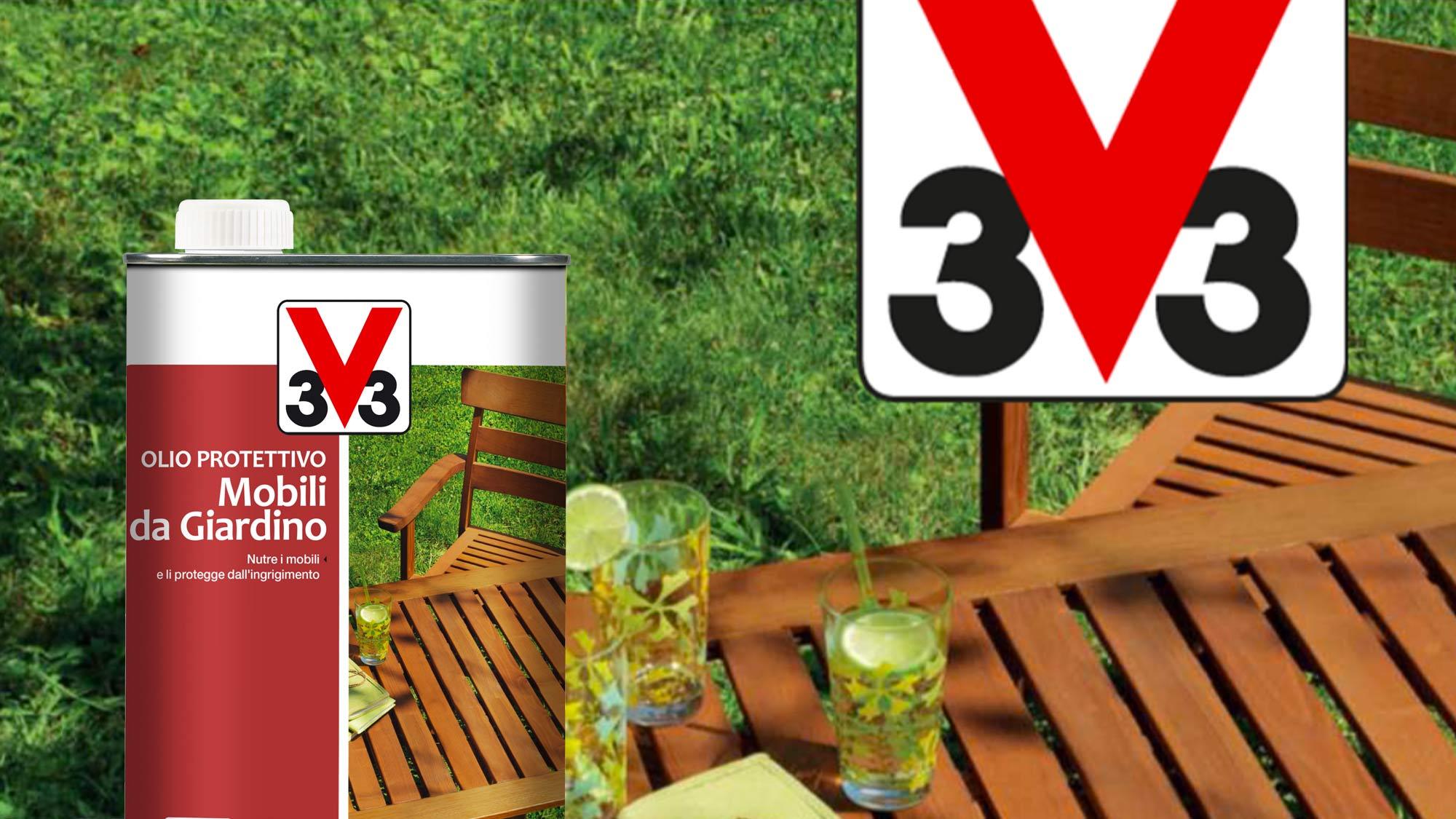 Olio protettivo per mobili da giardino | V33