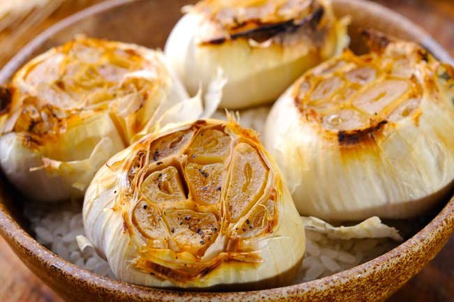 aglio arrostito