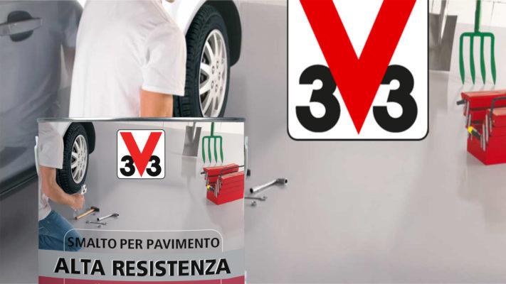 smalto per pavimenti ad alta resistenza V33