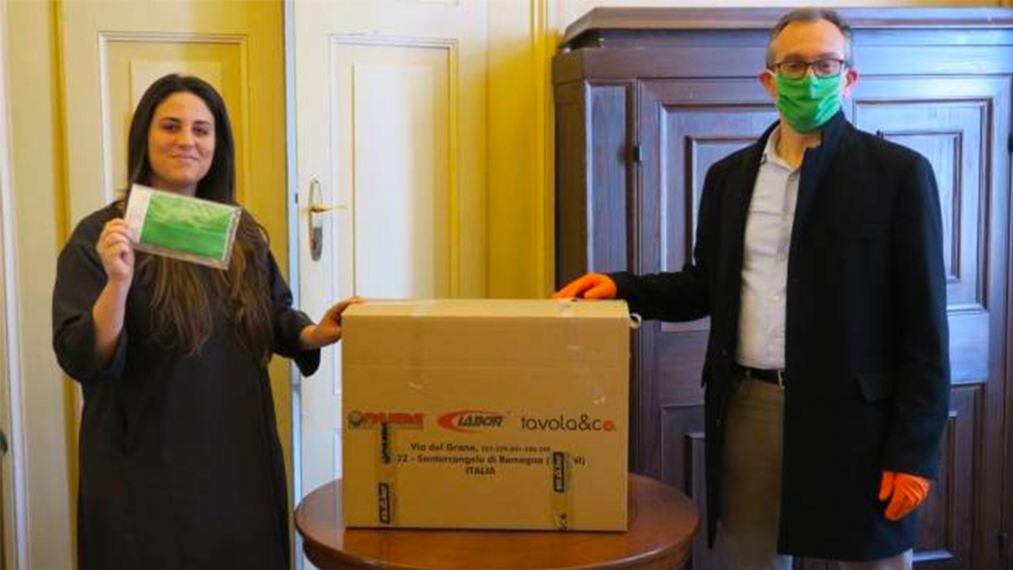 Sodifer riconverte la produzione | 10.000 mascherine al giorno contro il Coronavirus