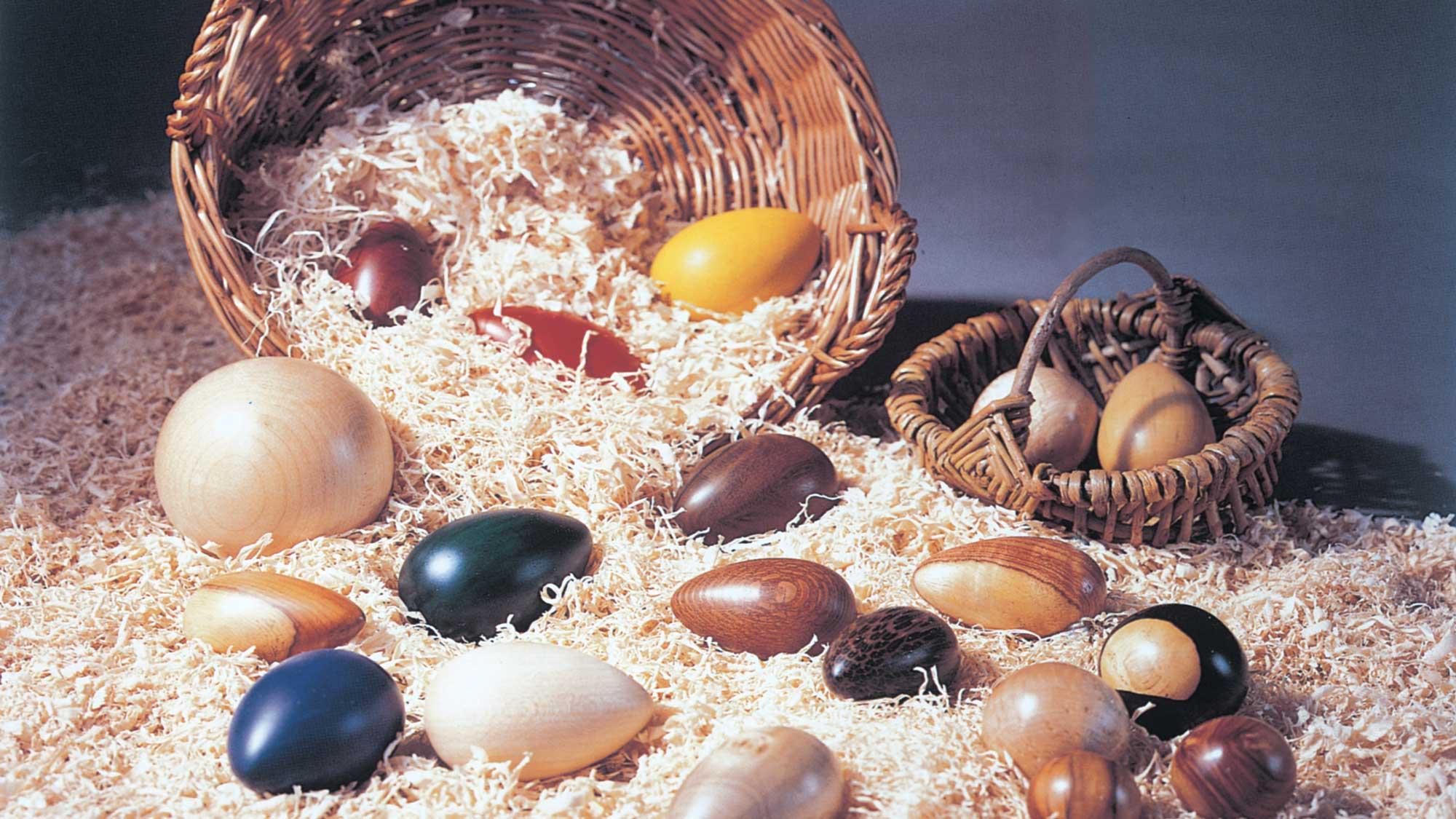 Uova di legno fai da te | Realizzazione al tornio