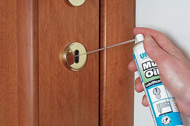 lubrificare le serrature