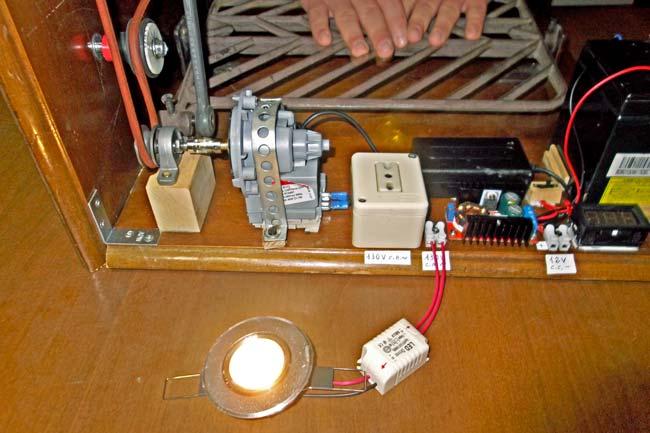 generatore di corrente fai da te