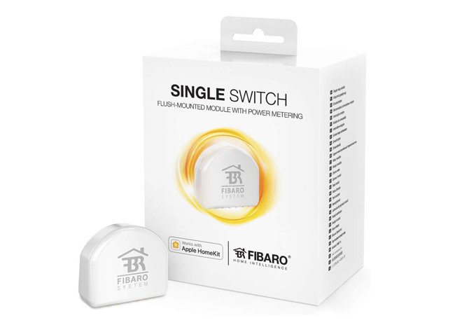 interruttore intelligente Single Switch Fibaro