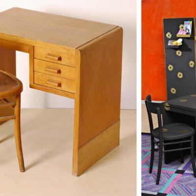 Mini ufficio decorato con paravento | Realizzazione fai da te