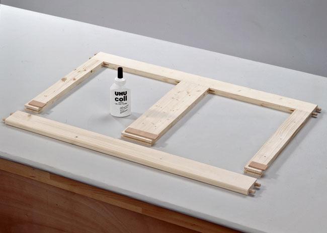 telaio tavolino basso