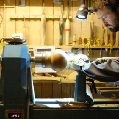 Tornire una sfera in legno   Realizzazione passo-passo