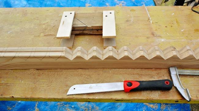 schermatura in legno