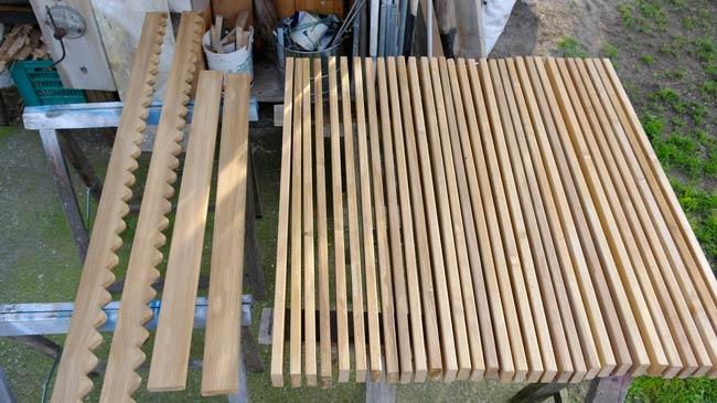 schermatura legno