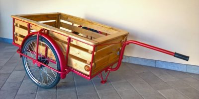 carretto in legno