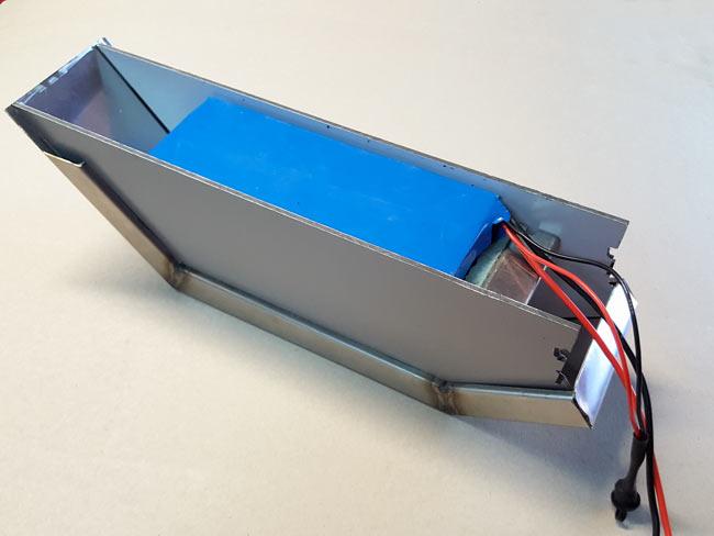 batteria ebike fai da te