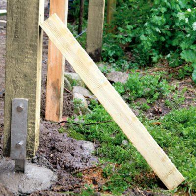 Come piantare un palo stabile e duraturo