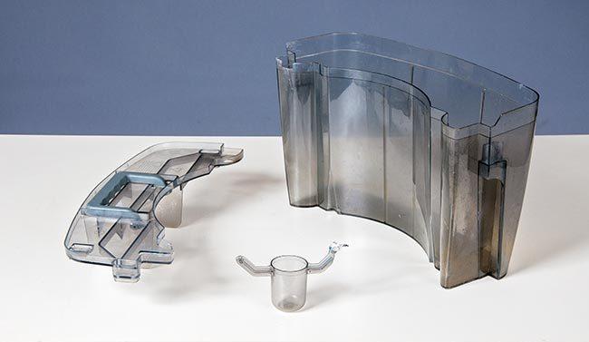 vaschetta con galleggiate deumidificatore