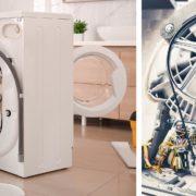 sostituire la cinghia della lavatrice