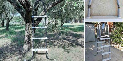 scala da giardino