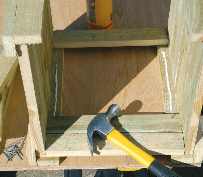 Come costruire fioriere legno