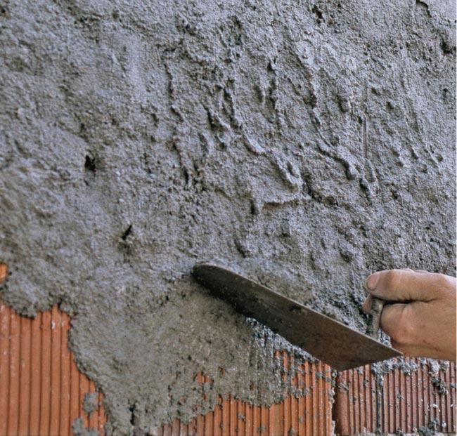 intonacare un muro