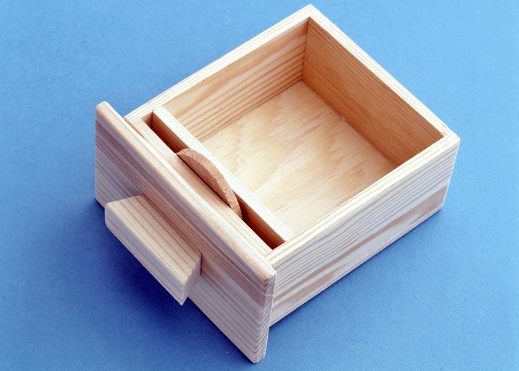 cassettini in legno
