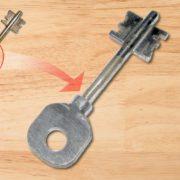 riparare una chiave spezzata