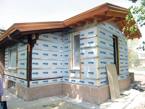 Come isolare con i pannelli isotec parete bricoportale - Cappotto interno casa ...