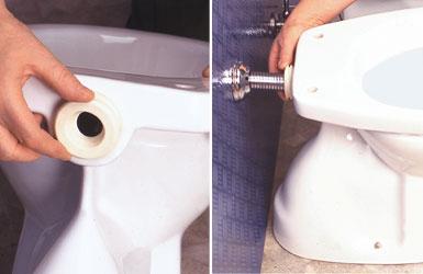 collegamento wc cassetta