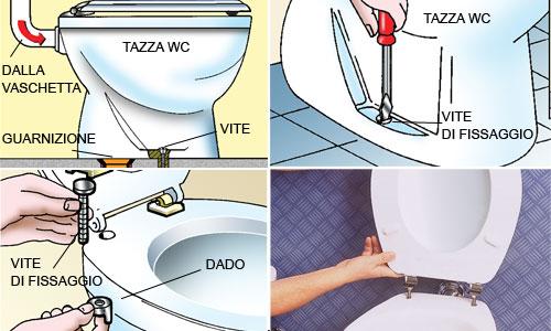 Sostituire il wc come si installa il water rifare casa bricoportale - Tazza del bagno ...