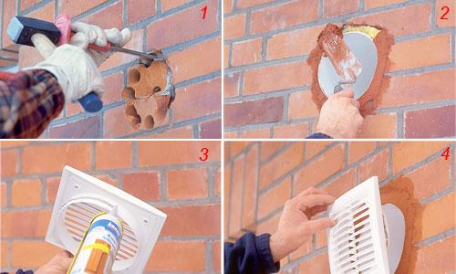 Come installare una ventola aspiratore per interni bricoportale fai da te e bricolage - Prezzo aspiratore vortice per bagno ...
