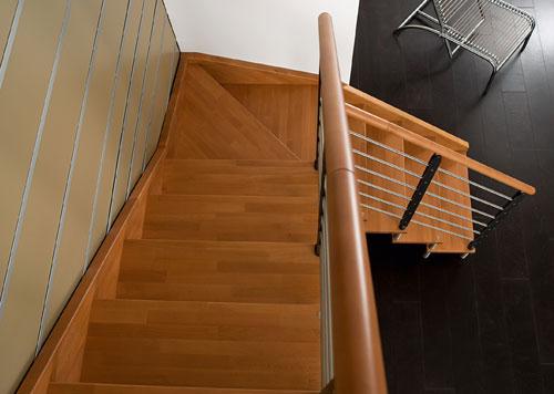 Come scegliere la scala interna bricoportale fai da te e bricolage - Come arredare una scala interna ...