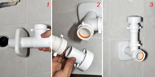 Risolvi senza l 39 idraulico il problema dello scarico rumoroso for Raccordo casa verticale