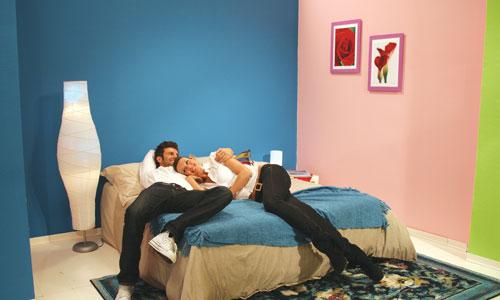 I colori per una stanza da letto idee per il design - Colori muri per camera da letto ...
