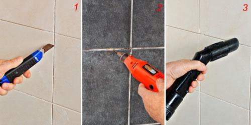 Come rinnovare le fughe delle piastrelle sporcate dagli anni - Stuccare fughe piastrelle doccia ...