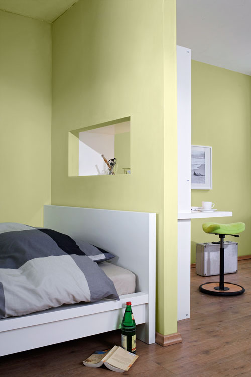 Semi parete in cartongesso separa gli ambienti - Bricoportale: Fai da te e bricolage