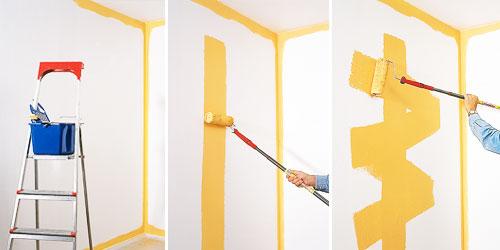 Pitturazione degli ambienti di casa bricoportale fai da for Pitturare muri di casa