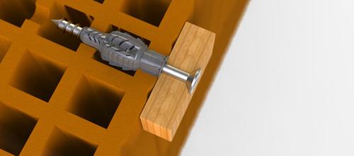 Tasselli fischer ux bricoportale fai da te e bricolage for Fischer per cartongesso