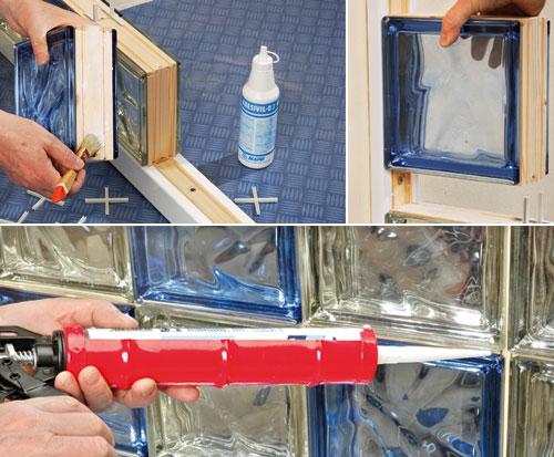 Costruire con il vetrocemento bricoportale fai da te e - Costruire box doccia ...