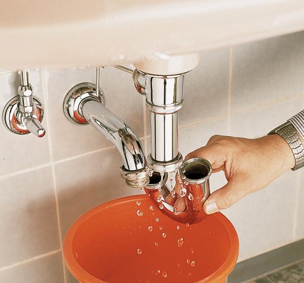 Sturare il lavandino bricoportale fai da te e bricolage - Sifone lavandino bagno ...