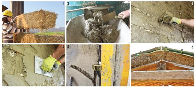 Costruire case di paglia bricoportale fai da te e bricolage for Piani di casa di balle di paglia