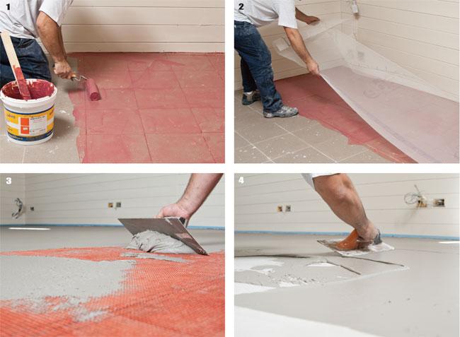 Eccezionale Cemento cerato e pastina di cemento | Applicazione - Bricoportale  CY44