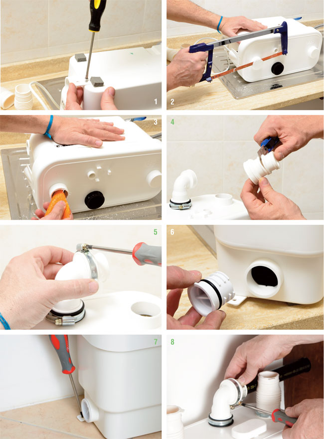 installare sanivite