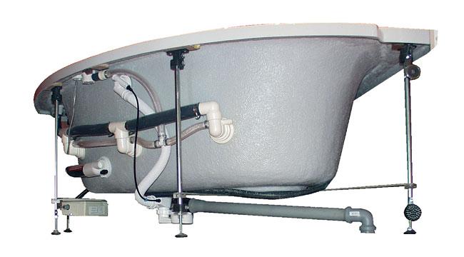 Vasca Da Bagno Montaggio : Installare una vasca idromassaggio bricoportale: fai da te e bricolage