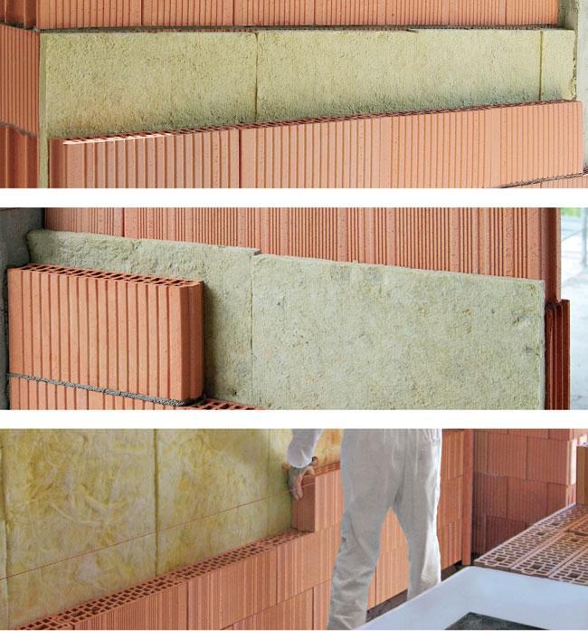 isolamento con mattoni porizzati