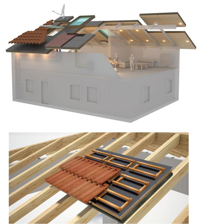 tetto prefabbricato, big mat, bigmat, vass technologies, tetto in legno, tetto di legno,  coperture tetti, copertura tetto