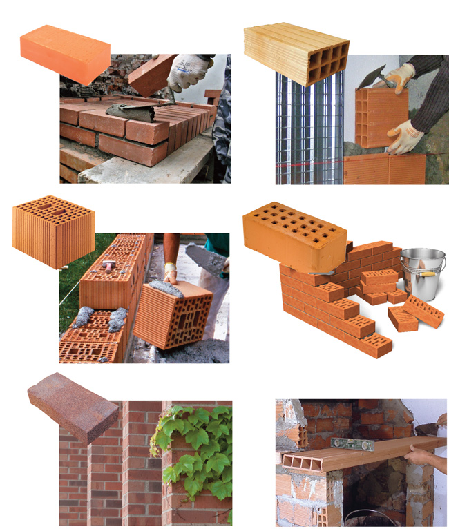 Casa in mattoni pieni cemento armato precompresso for Materiali da costruzione della casa