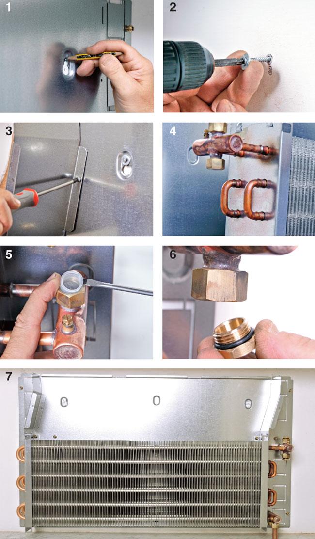 installazione termoconvettore