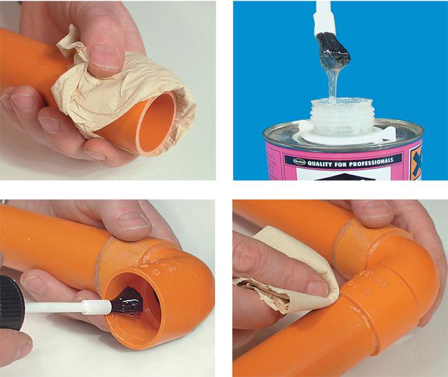 Tubi PVC senza guarnizione