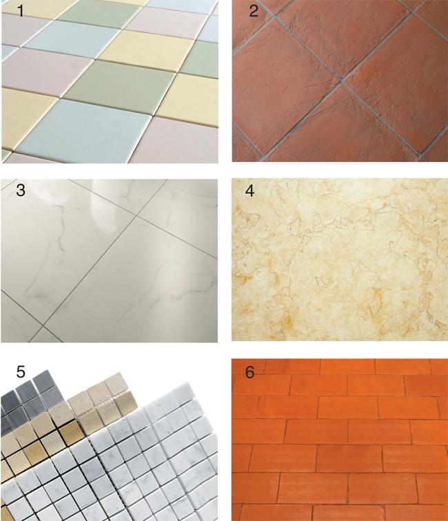tipi di piastrelle, piastrelle, tipologie di piastrella, klinker, ceramica, cotto, grés porcellanato, marmo, mosaico, piastrelle sottili