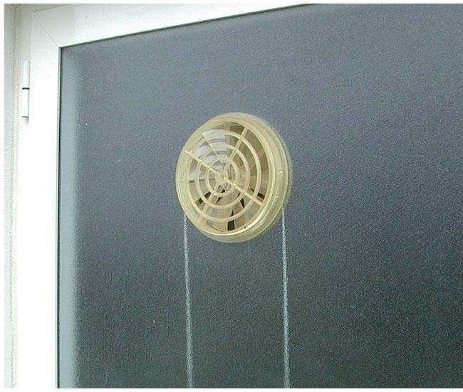 Come contrastare la condensa sui muri in modo definitivo for Ventola bagno