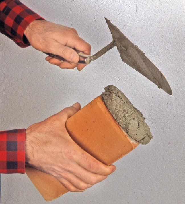 mattone e cemento