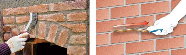 Come costruire un muro in mattoni faccia vista